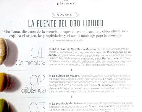 Artículo en el suplemento de El País