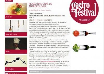 Mar Luna Villacañas en el Gastrofestival 2015 de Madrid