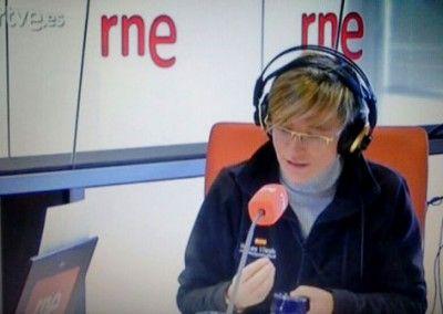 """En el programa """"España Vuelta y Vuelta """" de Manolo HH en Radio Nacional de España"""