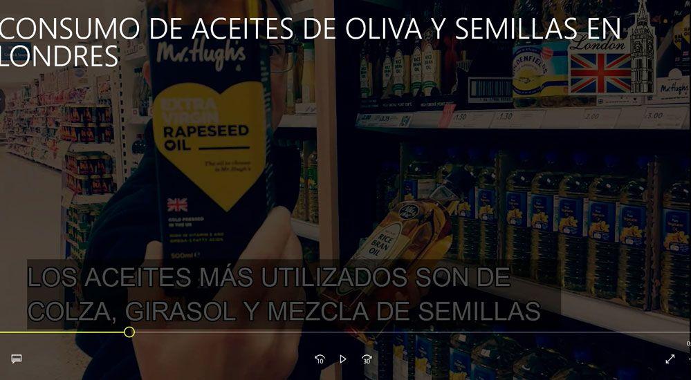 Hábitos de consumo de «aceites» en Londres (Capítulo 1)