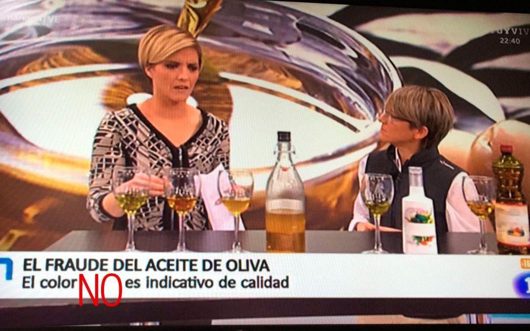 """Hablando de """"los aceites de oliva"""" en RTVE"""