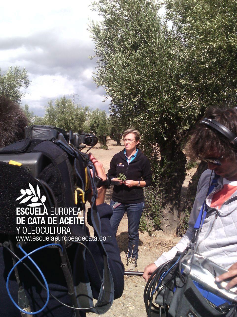 """Mar Luna Villacañas en el programa de RTVE """"Aquí la Tierra"""""""