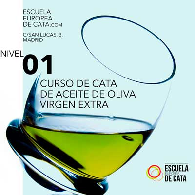 CATA DE ACEITE DE OLIVA VIRGEN EXTRA NIVEL 1