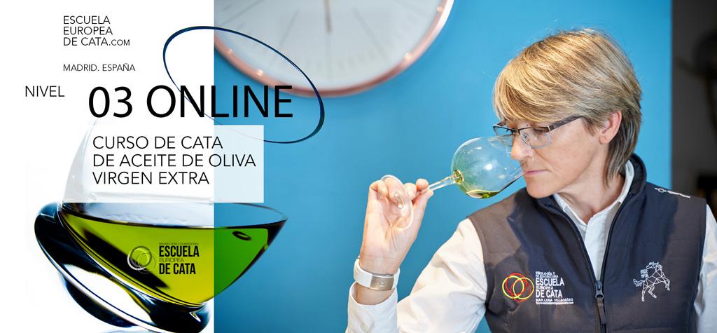 CURSO ONLINE DE CATA DE ACEITES DE OLIVA NIVEL 3