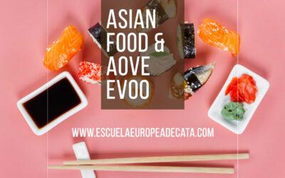 Comida japonesa y A.O.V.E: Maridaje perfecto